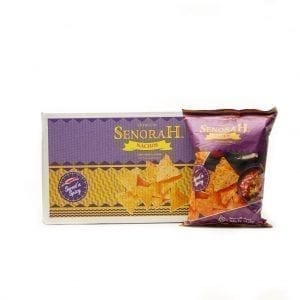 Buy Sweet & Spicy Nachos Chips Box online in UAE, for Birthday Parties and Family celebration in UAE