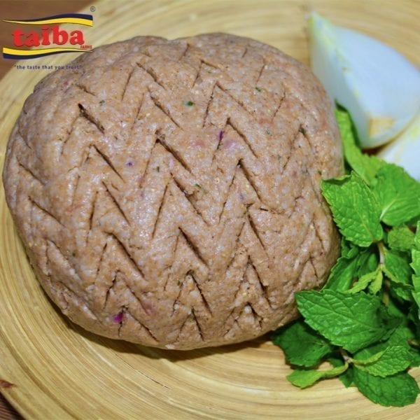 Kibbeh Paste Beef (Ready to Cook) Enjoy the Kibbeh paste (100% halal beef). It is perfect for special events and for preparing the authentic Kibbeh in no time. We provide the original Lebanese Kibbeh paste (beef) so you can cook it anyway you desire.